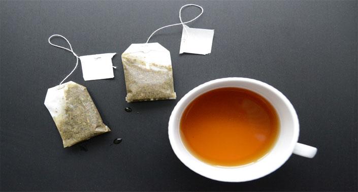 manfaat teh celup bekas